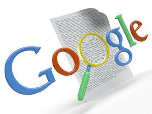 keyword research represented by google logo and magnifying glass