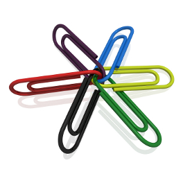 clips linked together for link building servives brighton