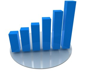 web analytics showing growth