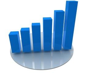 web analytics showing growth