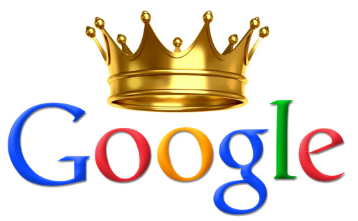 google with crown