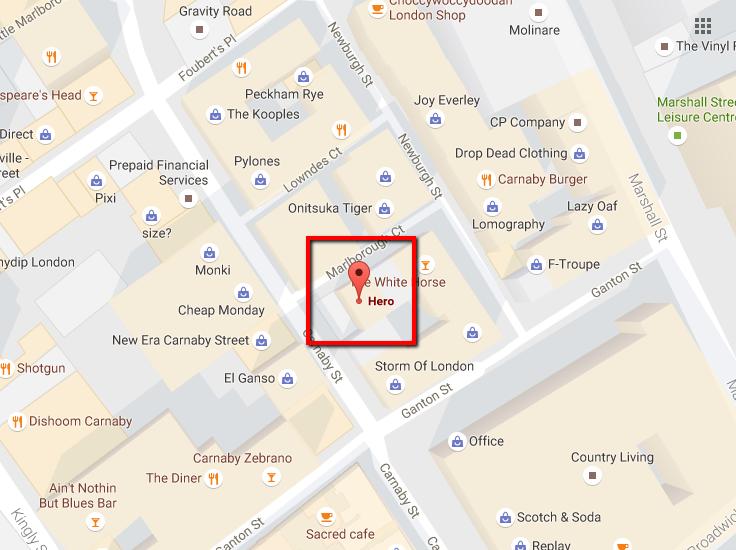 local seo google map marker