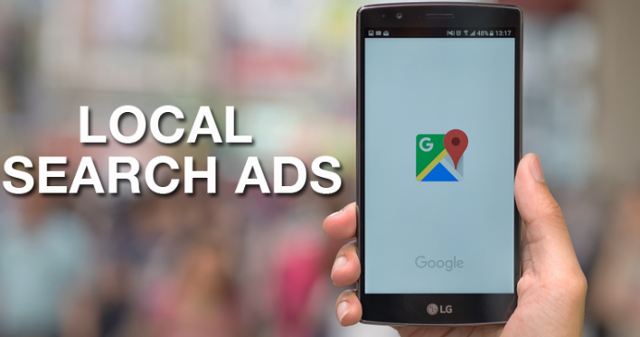 localsearch ads on mobile